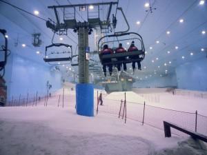 Partie Ski in Dubai