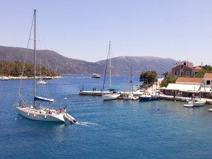 Yachturi in Kefalonia