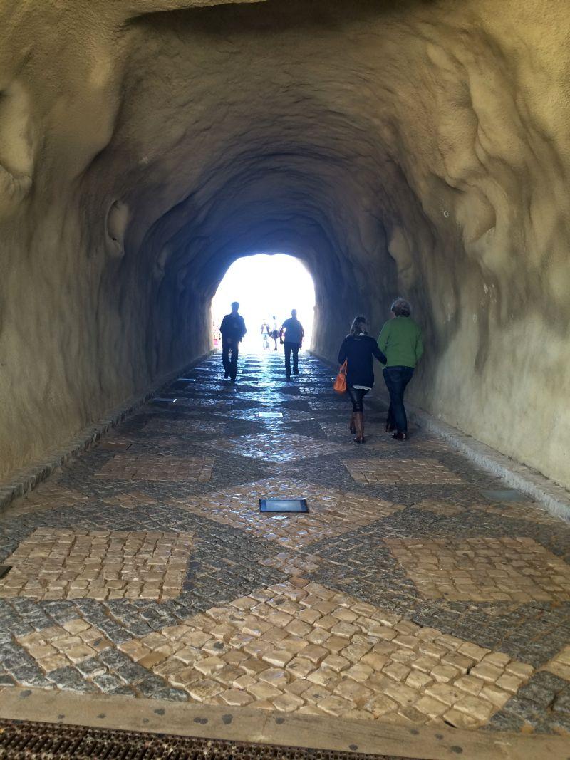 tunel plaje algarve