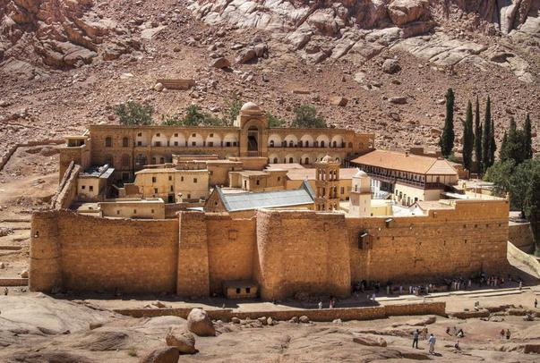 Peninsula Sinai, de la Marea Rosie la Sfanta Ecaterina