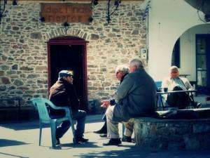 kafenios in Grecia