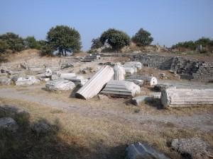 Ruinele orasului Troia