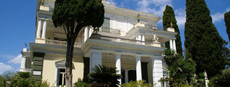 Micile secrete ale palatului Achilleion